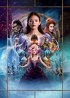 Promotional art with Mackenzie Foy, Keira Knightley, Morgan Freeman, Helen Mirren, Jayden Fowora-Knight, Misty Copeland, Richard E. Grant & Eugenio Derbez.<br /> The Nutcracker and the Four Realms (2018) <br /> *Filmstill - Editorial Use Only*<br /> CAP/RFS<br /> Image supplied by Capital Pictures