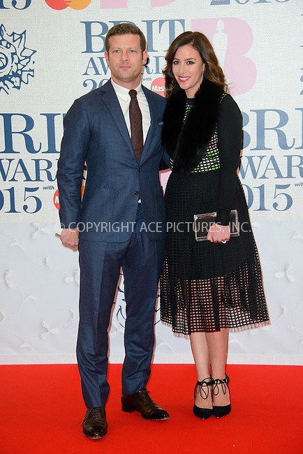 WWW.ACEPIXS.COM<br /> <br /> February 25 2015, London<br /> <br /> Dermot O'Leary arriving at the Brit awards 2015 at the O2 Arena on February 25 2015 in London<br /> <br /> By Line: Famous/ACE Pictures<br /> <br /> <br /> ACE Pictures, Inc.<br /> tel: 646 769 0430<br /> Email: info@acepixs.com<br /> www.acepixs.com