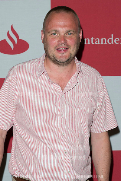 Al Murray arriving for The Grand Prix London F1 Party, RAC Club London. 28/06/2012 Picture by: Simon Burchell / Featureflash