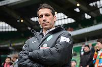 FUSSBALL   1. BUNDESLIGA   SAISON 2012/2013    22. SPIELTAG SV Werder Bremen - SC Freiburg                                16.02.2013 Sportmanager Thomas Eichin (SV Werder Bremen)