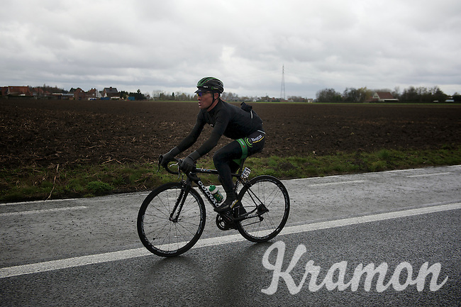 Thomas &quot;Titi&quot; Voeckler (FRA/Europcar)<br /> <br /> 70th Dwars Door Vlaanderen 2015