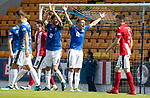 St Johnstone v East Fife…14.07.18…  McDiarmid Park    League Cup<br />David McMillan and Murray Davidson appeal for a handball<br />Picture by Graeme Hart. <br />Copyright Perthshire Picture Agency<br />Tel: 01738 623350  Mobile: 07990 594431