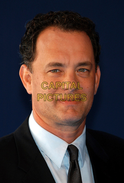 "TOM HANKS.""Road to Perdition"", Deauville Film Festival, Deauville, France..September 1st, 2002.headshot portrait.CAP/PL.©Phil Loftus/Capital Pictures"