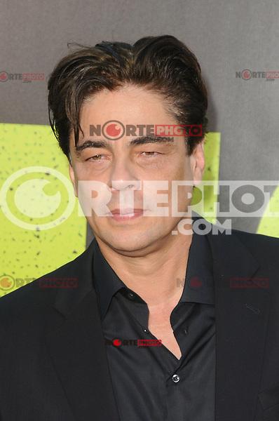 Benicio Del Toro at the Premiere of Universal Pictures' 'Savages' at Westwood Village on June 25, 2012 in Los Angeles, California. ©mpi35/MediaPunch Inc. /NORTEPHOTO* **SOLO*VENTA*EN*MEXICO** **CREDITO*OBLIGATORIO** **No*Venta*A*Terceros** **No*Sale*So*third** *** No*Se*Permite Hacer Archivo** **No*Sale*So*third** *Para*más*información:*email*NortePhoto@gmail.com*web*NortePhoto.com*
