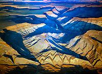Rock forms and San Juan River, Bears Ears National Monumnet, Utah