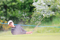 Jack Singh Brar (ENG) on the 4th green during Round 2 of the Betfred British Masters 2019 at Hillside Golf Club, Southport, Lancashire, England. 10/05/19<br /> <br /> Picture: Thos Caffrey / Golffile<br /> <br /> All photos usage must carry mandatory copyright credit (&copy; Golffile | Thos Caffrey)