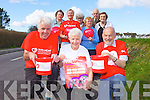 Locals from Ballyduff are taking part in a fundraising walk in Castleisland on October 8th to raise funds for the Irish Heart Foundation. .From front l-r were: Jim Behan, Pam Browne and Bob Scott. Back l-r were: Kathleen O'Mahony, May Scott, Philomena Counihan, Hannah Mai Browne, Julie Sheehy and Bernard Guerin.