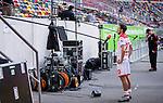 nph00351: Fussball, 1. Bundesliga, Saison 19/20, 26. Spieltag, Fortuna Düsseldorf - FC Paderborn 07, 16.05.2020:<br /> Steven Skrzybski (F95) im ZDF Interview<br />  <br /> <br /> Nur für journalistische Zwecke! Only for editorial use!<br /> <br /> Gemäß den Vorgaben der DFL Deutsche Fußball Liga ist es untersagt, in dem Stadion und/oder vom Spiel angefertigte Fotoaufnahmen in Form von Sequenzbildern und/oder videoähnlichen Fotostrecken zu verwerten bzw. verwerten zu lassen. DFL regulations prohibit any use of photographs as image sequences and/or quasi-video. <br /> <br /> Foto: Moritz Müller/Pool / via Meuter/nordphoto