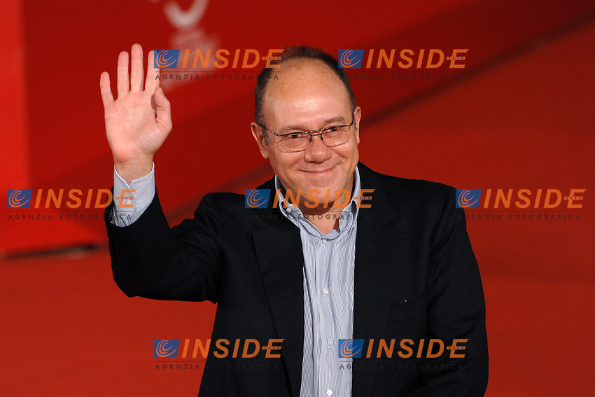 Carlo Verdone<br /> Third edition of the Rome International film festival<br /> Roma 26/10/2008 <br /> Photo Andrea Staccioli Insidefoto