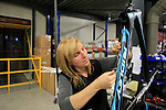 Quality control section at the Ridley factory in Paal-Beringen, Belgium, 21st March 2013 (Photo by Eoin Clarke 2013)