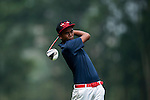 Daniel HJ Mohd Sidek of Malaysia in action during the 9th Faldo Series Asia Grand Final 2014 golf tournament on March 19, 2015 at Faldo course in Mid Valley clubhouse in Shenzhen, China. Photo by Xaume Olleros / Power Sport Images