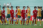 Semi-final North Korea VS Australia during the 2008 AFC Women's Asian Cup,5 June, 2008  in Thong Nhat Stadium, Ho Choi Minh City, Vietnam. Photo by World Sport Group
