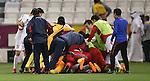 Qatar vs DPR Korea during the AFC U23 Championship 2016 Quarter Finals match on January 17, 2016 at the Jassim Bin Hamad Stadium in Doha, Qatar. Photo by Fadi Al-Assaad / Lagardère Sports