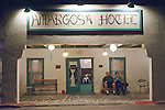 Amargosa Hotel and Opera House at Death Valley Jct...Nightlife at the Amargosa Hotel after Marta Beckett's performance
