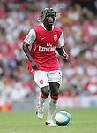 Arsenal's Bacary Sagna in action. .Pic SPORTIMAGE/David Klein