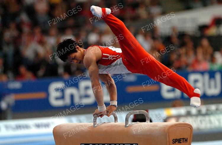 WORLD CHAMPIONSHIPS .STUTTGART 2007.INDIVIDUAL APPARATUS CHAMPIONSHIPS.9.9.07.