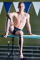 NWA Democrat-Gazette/JASON IVESTER<br /> Bentonville's Kyle Nichols, diver of the year; photographed on Tuesday, March 7, 2017, at the Bentonville Community Center