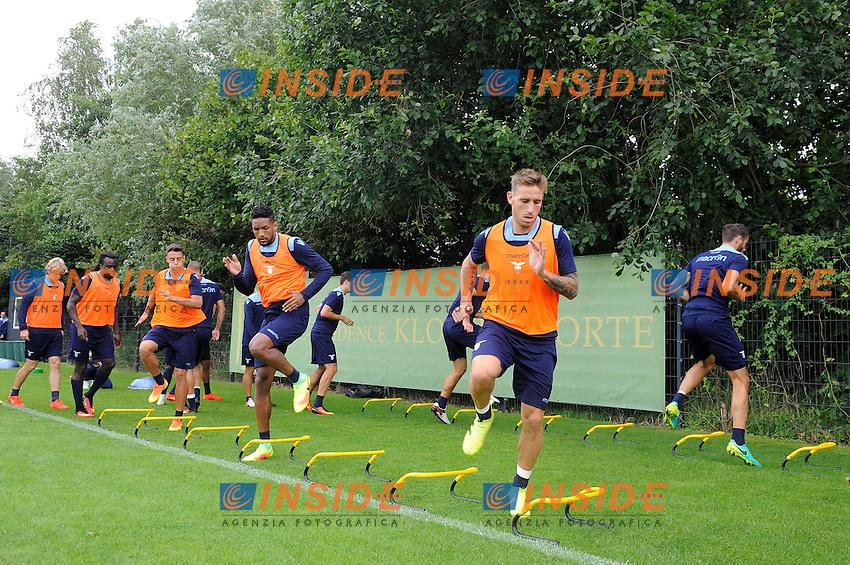 Lucas Biglia<br /> 06-08-2016 Marienield<br /> Allenamento Lazio <br /> SS Lazio traning day<br /> @ Marco Rosi / Fotonotizia / Insidefoto