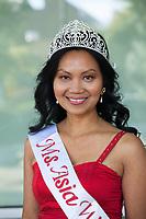Ms. Asia 2017, Renton Multicultural Festival, Washington, USA.