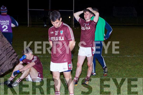 Dromid reaction end of the Munster Junior final.