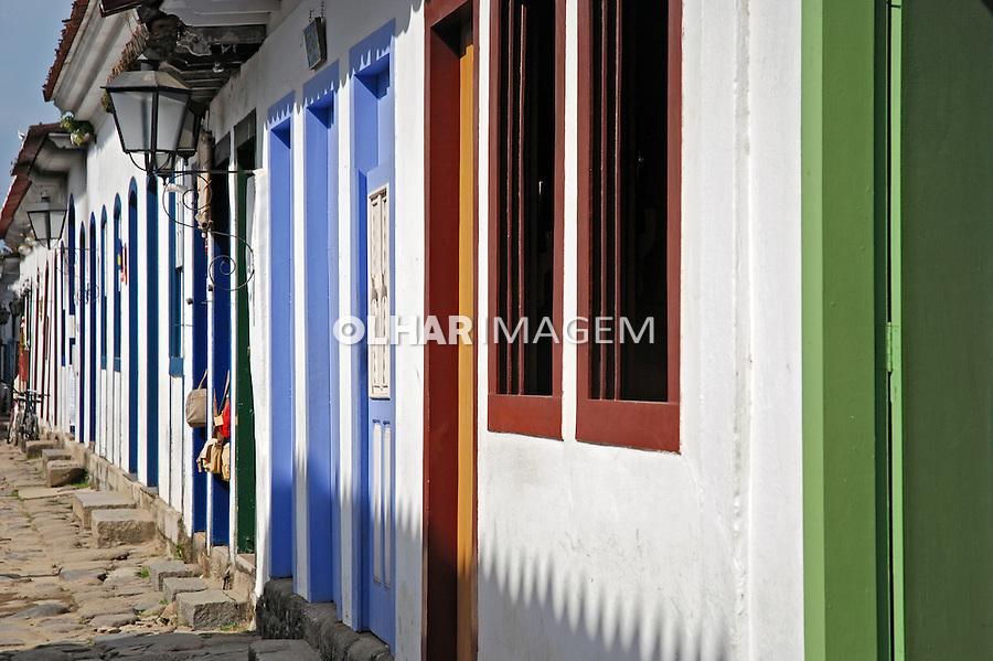 Arquitetura colonial da cidade de Parati. Rio de Janeiro. 2008. Foto de Vinicius Romanini.
