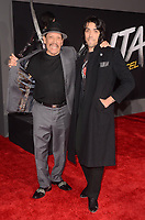 LOS ANGELES, CA - FEBRUARY 05: Danny Trejo, Gilbert Trejo at the premiere of 'Alita: Battle Angel'  at Westwood Regency Theater on February 5, 2019 in Los Angeles, California. <br /> CAP/MPI/DE<br /> &copy;DE//MPI/Capital Pictures