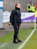 2nd December 2017, Firhill Stadium, Glasgow, Scotland; Scottish Premiership football, Partick Thistle versus Hibernian; Neil Lennonthe Hibernian manager