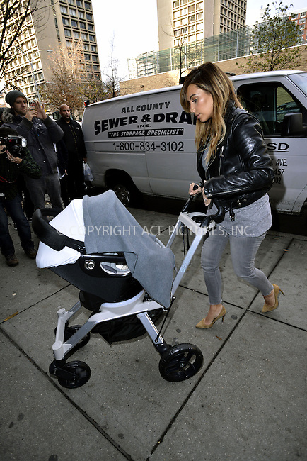 WWW.ACEPIXS.COM<br /> <br /> November 22 2013, New York City<br /> <br /> Kim Kardashian and Lala Anthony go shopping in Manhattan with Kim's baby North West on November 22 2013 in New York City<br /> <br /> By Line: Curtis Means/ACE Pictures<br /> <br /> <br /> ACE Pictures, Inc.<br /> tel: 646 769 0430<br /> Email: info@acepixs.com<br /> www.acepixs.com