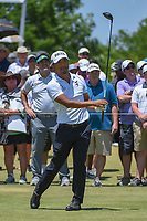 Satoshi Kodaira (JPN) watches his tee shot on 1 during round 2 of the AT&amp;T Byron Nelson, Trinity Forest Golf Club, at Dallas, Texas, USA. 5/18/2018.<br /> Picture: Golffile | Ken Murray<br /> <br /> <br /> All photo usage must carry mandatory copyright credit (&copy; Golffile | Ken Murray)