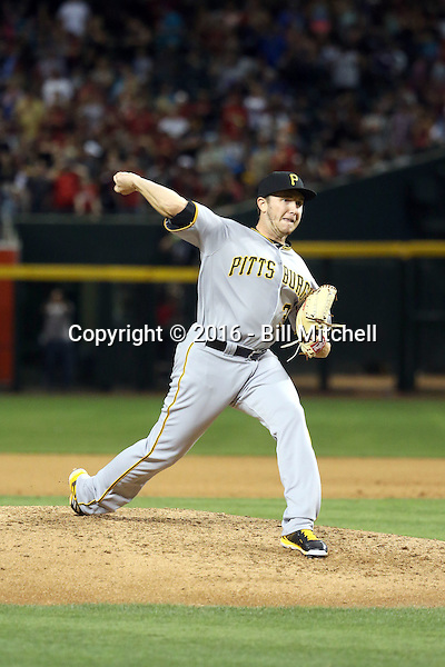 AJ Schugel - 2016 Pittsburgh Pirates (Bill Mitchell)