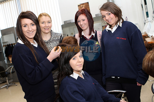 Roisin Butterly, Shannon Dowling, Aine Murphy and Emma Plunkett at the DIFE Open Day. ..(Photo credit should read Jenny Matthews www.newsfile.ie)....This Picture has been sent you under the conditions enclosed by:.Newsfile Ltd..The Studio,.Millmount Abbey,.Drogheda,.Co Meath..Ireland..Tel: +353(0)41-9871240.Fax: +353(0)41-9871260.GSM: +353(0)86-2500958.email: pictures@newsfile.ie.www.newsfile.ie.