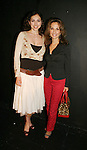 All My Children's Susan Lucci & Eden Riegel attend the play My Life As You, a new romantic comedy on September 15, 2006 at the Producers Club II, NYC. (Photo by Sue Coflin/Max Photos)