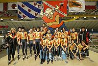 SCHAATSEN: HEERENVEEN: IJsstadion Thialf, 03-2004, VikingRace, Team Germany, ©foto Martin de Jong