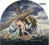 Dona Gelsinger, EASTER RELIGIOUS, paintings(USGE8903,#ER#) Ostern, religiös, Pascua, relgioso, illustrations, pinturas