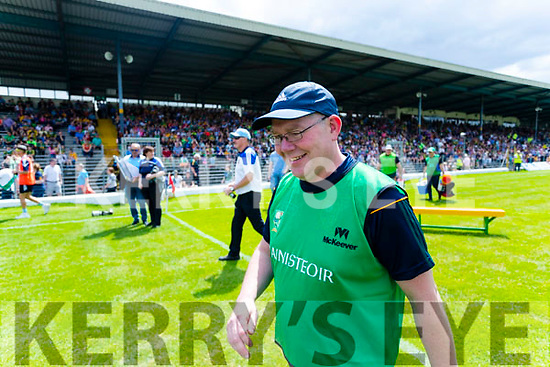 Kerry manager Eddie Sheehy during the TG4 Munster Senior Ladies Football Championship semi-final match between Kerry and Waterford at Fitzgerald Stadium in Killarney on Sunday.