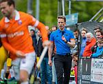 BLOEMENDAAL - scheidsrechter Jonas van 't Hek  tijdens de hoofdklasse competitiewedstrijd hockey heren,  Bloemendaal-Den Bosch (2-1) COPYRIGHT KOEN SUYK