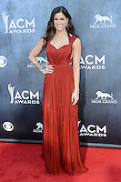 LAS VEGAS, NV, USA - APRIL 06: Cassadee Pope at the 49th Annual Academy Of Country Music Awards held at the MGM Grand Garden Arena on April 6, 2014 in Las Vegas, Nevada, United States. (Photo by Celebrity Monitor)