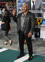 Mike Tyson at the Los Angeles premiere of &quot;Draft Day&quot; at the Regency Village Theatre, Westwood.<br /> April 7, 2014  Los Angeles, CA<br /> Picture: Paul Smith / Featureflash