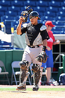 April 2, 2010:  Catcher Ramon Cabrera of the Pittsburgh Pirates organization during Spring Training at Bright House Field in Clearwater, FL.  Photo By Mike Janes/Four Seam Images