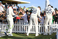 23rd November 2019; Mt Maunganui, New Zealand;  England players sign autographs at the end of play on Day 3, 1st Test match between New Zealand versus England. International Cricket at Bay Oval, Mt Maunganui, New Zealand.  - Editorial Use
