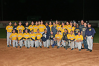 October 3,2009:  Monroe Community College Tribunes vs the Genesee Community College Cougars in the Championship game of the WNYAC Tournament at Dwyer Stadium in Batavia, NY.  Genesee defeated Monroe by the score of 5-4 to win the WNYAC Championship.  Photo Copyright Mike Janes Photography 2008