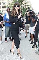 NEW YORK, NY - August 07: Dakota Johnson seen In New York City on August 07, 2019 <br /> CAP/MPI/RW<br /> ©RW/MPI/Capital Pictures