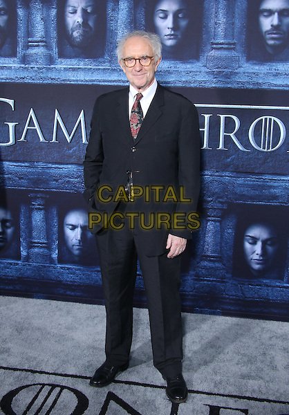 Hollywood, CA - April 10 Jonathan Pryce Attending Premiere Of HBO's &quot;Game Of Thrones&quot; Season 6 at The TCL Chinese Theatre On April 10, 2016. <br /> CAP/MPI/SAD<br /> &copy;SAD/MPI/Capital Pictures