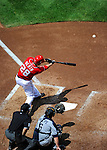 28 May 2011: Washington Nationals outfielder Jayson Werth in action against the San Diego Padres at Nationals Park in Washington, District of Columbia. The Padres defeated the Nationals 2-1 to even their 3-game series. Mandatory Credit: Ed Wolfstein Photo