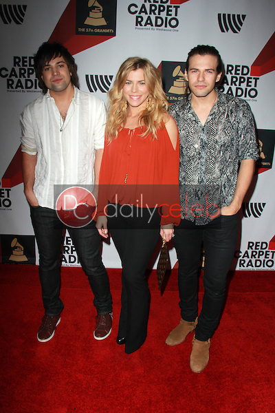 The Band Perry<br /> Red Carpet Radio presents Grammys Radio Row Day 1 at the Staples Center in Los Angeles, CA<br /> David Edwards/DailyCeleb.com 818-249-4998
