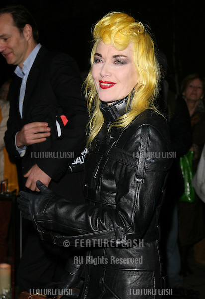 Pam Hogg arriving for the English National Ballet Christmas showing of The Nutcracker, at The Coliseum Theatre, London. 14/12/2011 Picture by: Alexandra Glen / Featureflash