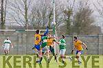 Action from the Senior Football League Div 3 Na Gaeil v Beaufort at Killeen Na Gaeil GAA Ground on Saturday