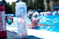 Team USA during the training session<br /> Synchronised swimming , Synchro<br /> 12/07/2017 <br /> XVII FINA World Championships Aquatics<br /> City Park - Varosliget Lake<br /> Budapest Hungary July 14th - 30th 2017 <br /> Photo @ Giorgio Perottino/Deepbluemedia/Insidefoto