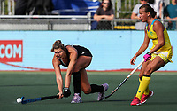 Olivia Merry. Pro League Hockey, Vantage Blacksticks Women v Australia, ANZAC Hockey test. North Harbour Hockey Stadium, Auckland, New Zealand. Thursday 25 April 2019. Photo: Simon Watts/Hockey NZ