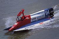 #94 USFORA Formula One (F1) Tunnel Boats, Cincinnati, Ohio 1990